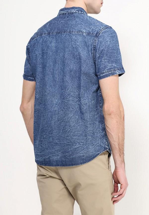 Фото 4 - Рубашку джинсовая Top Secret синего цвета