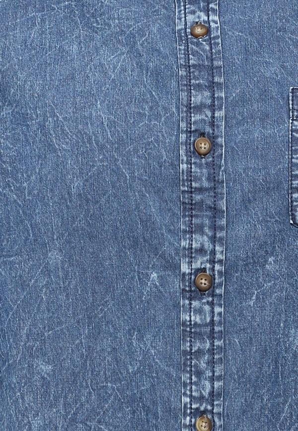 Фото 5 - Рубашку джинсовая Top Secret синего цвета