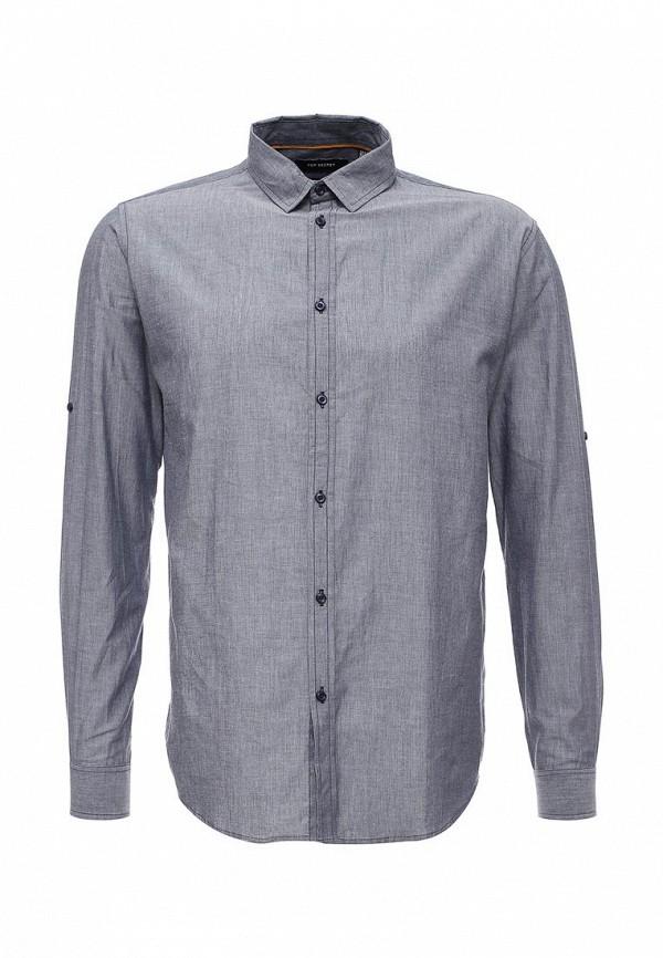 Купить мужскую рубашку Top Secret синего цвета
