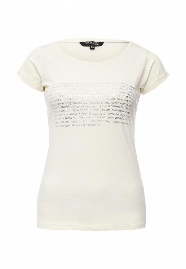 Женская молочная футболка Top Secret