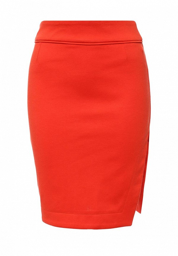 Оранжевая юбка Top Secret