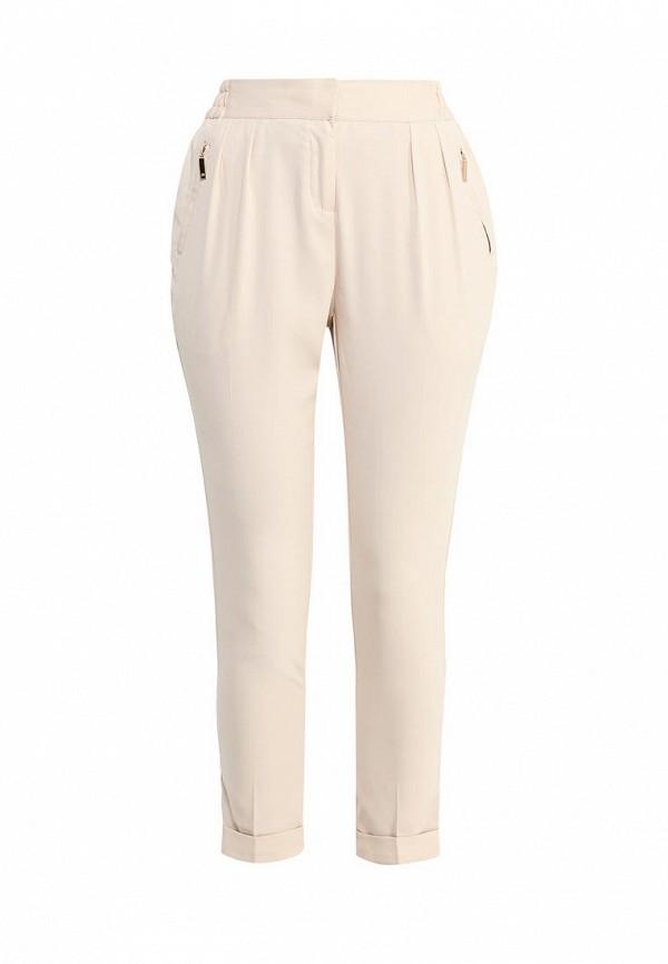 Купить женские брюки Top Secret бежевого цвета