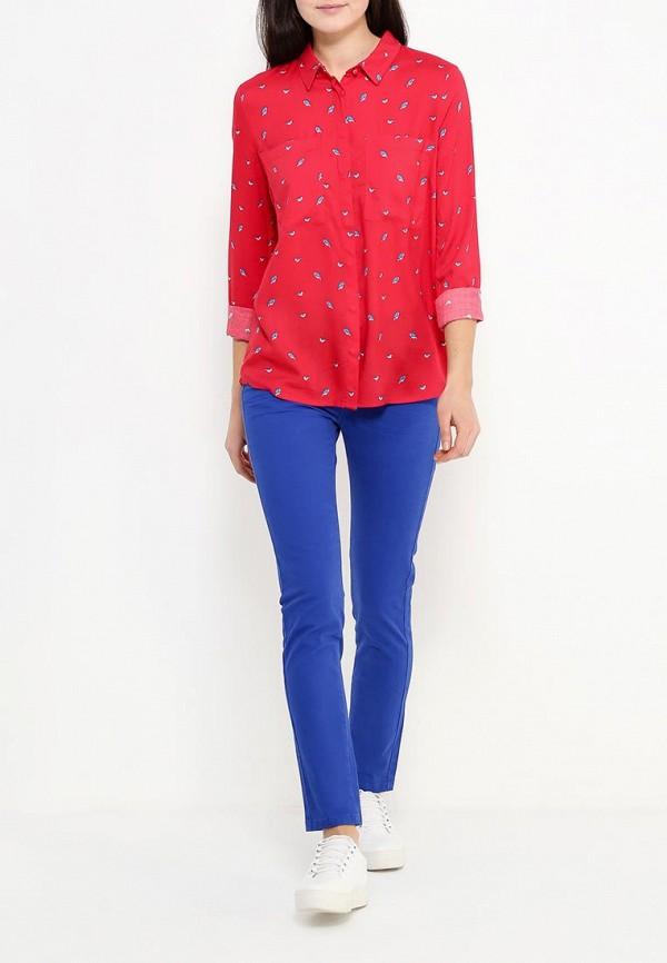 Фото 2 - женскую блузку Top Secret красного цвета
