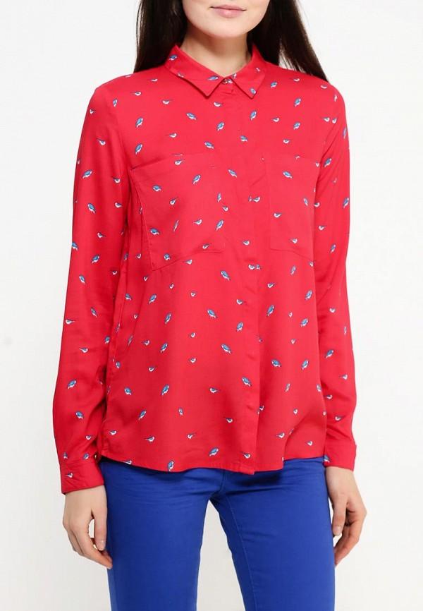 Фото 3 - женскую блузку Top Secret красного цвета
