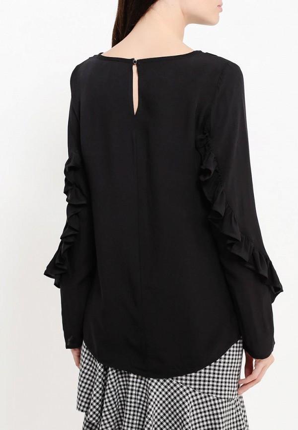 Фото 4 - женскую блузку Top Secret черного цвета