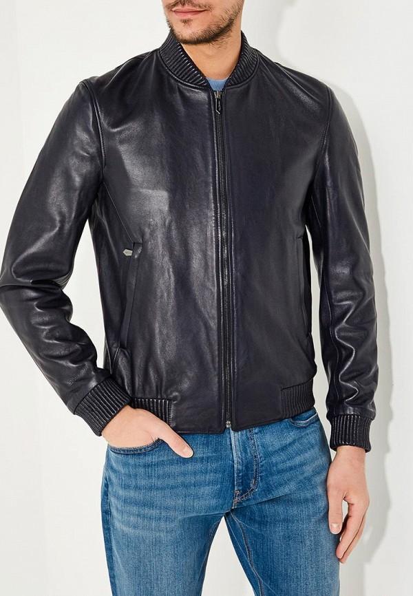 Куртка кожаная Trussardi