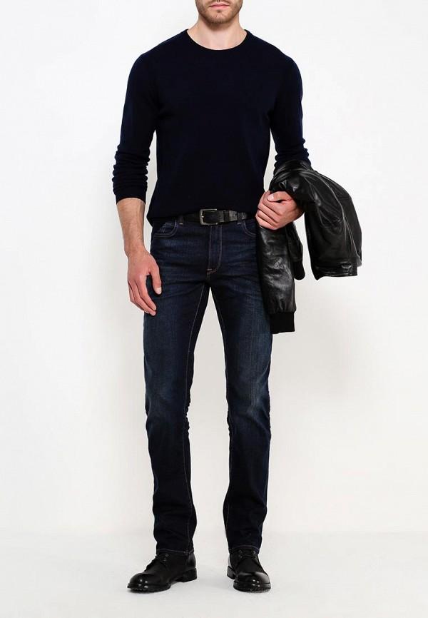 Фото 2 - мужское джемпер Trussardi синего цвета