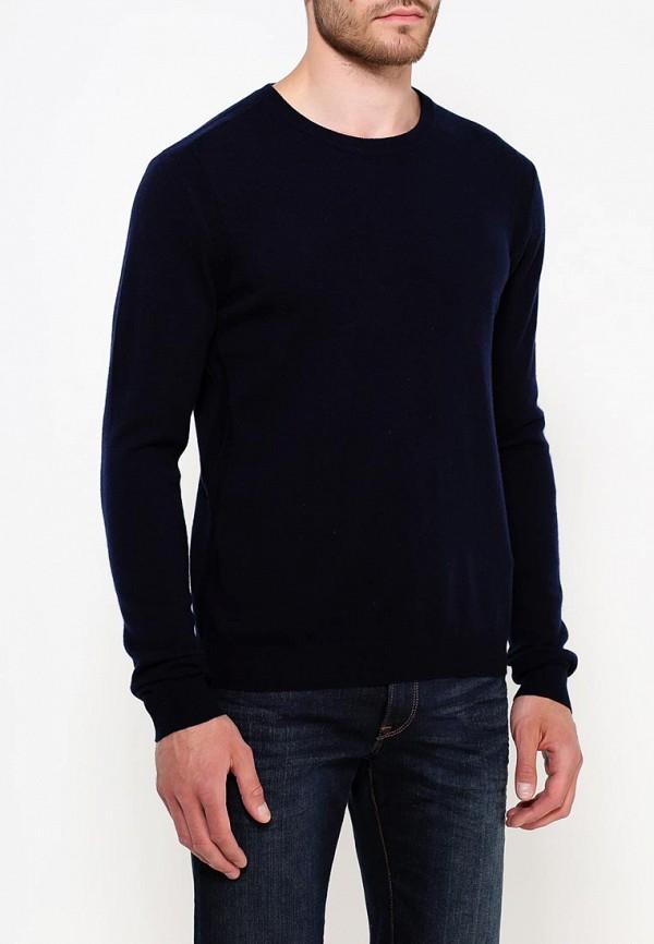 Фото 3 - мужское джемпер Trussardi синего цвета