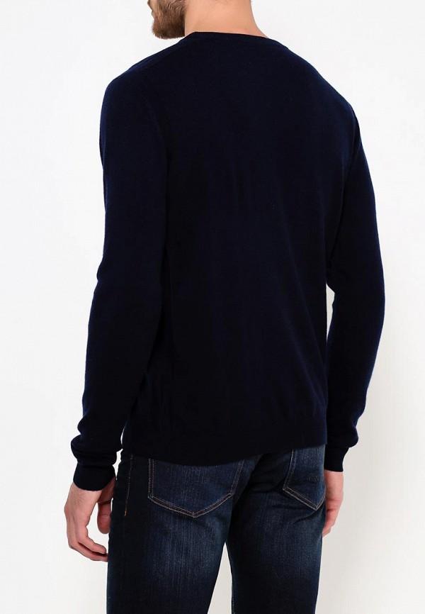 Фото 4 - мужское джемпер Trussardi синего цвета