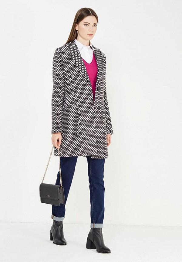 Фото 2 - женское пальто или плащ Trussardi Collection разноцветного цвета