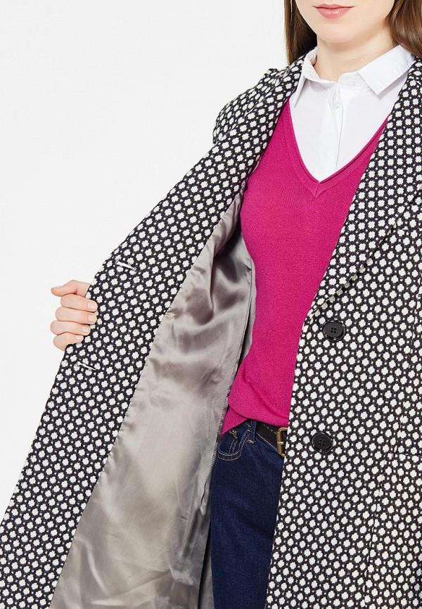 Фото 4 - женское пальто или плащ Trussardi Collection разноцветного цвета