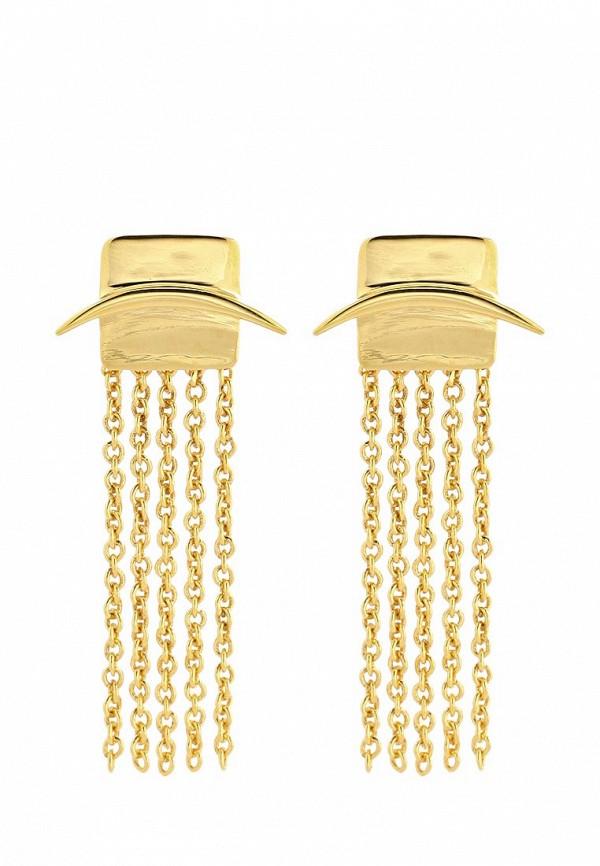 Серьги Trisori. Цвет: золотой