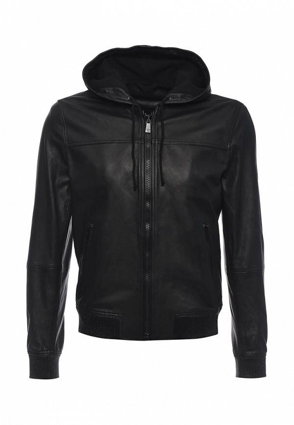 Куртка кожаная Trussardi Jeans 52s02