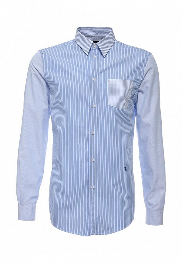 Рубашка с длинным рукавом TRUSSARDI JEANS (Труссарди Джинс) 52c52