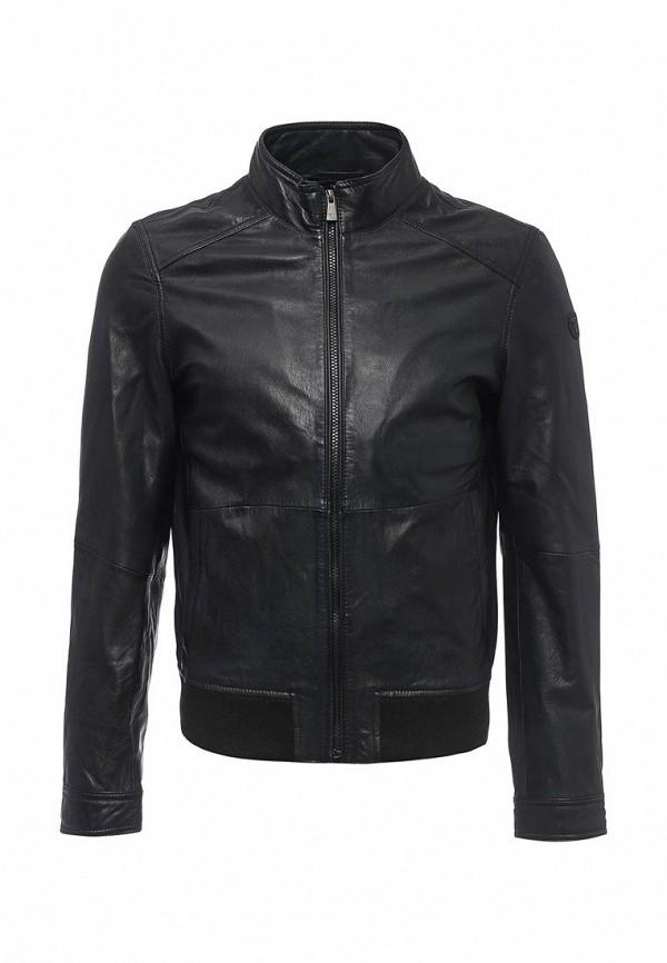 Кожаная куртка TRUSSARDI JEANS (Труссарди Джинс) 52s02xx