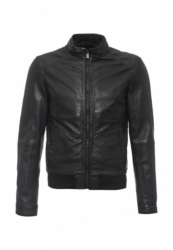 Куртка кожаная Trussardi Jeans 52s08