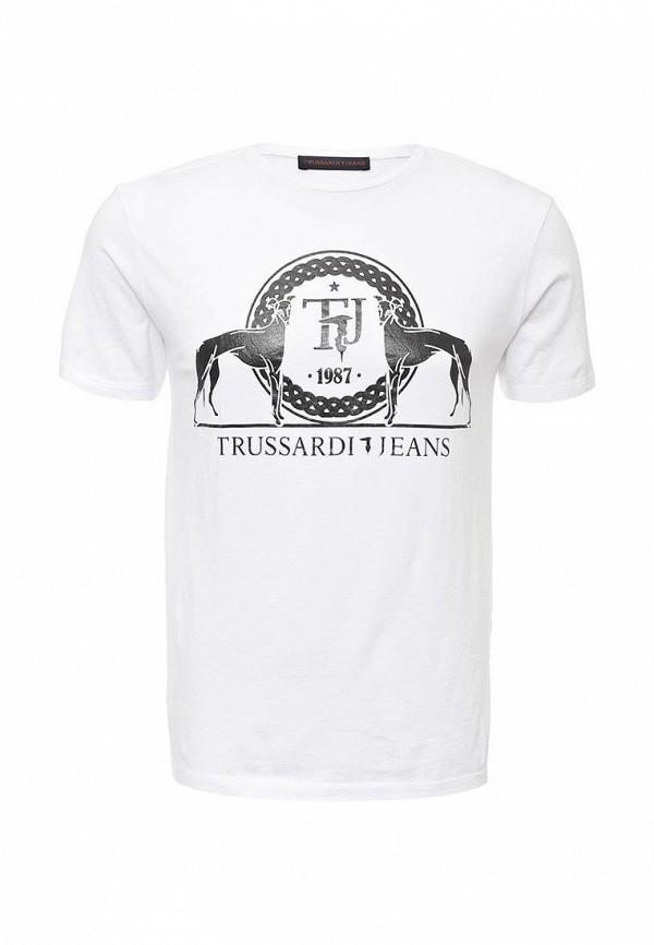 Футболка TRUSSARDI JEANS (Труссарди Джинс) 52t83