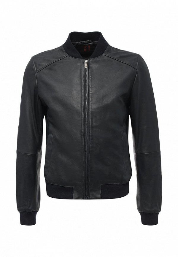 Куртка кожаная Trussardi Jeans Trussardi Jeans TR016EMUWA21