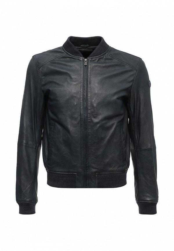 Куртка кожаная Trussardi Jeans Trussardi Jeans TR016EMUWA23