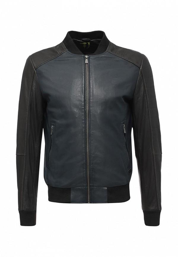 Куртка кожаная Trussardi Jeans Trussardi Jeans TR016EMUWA24