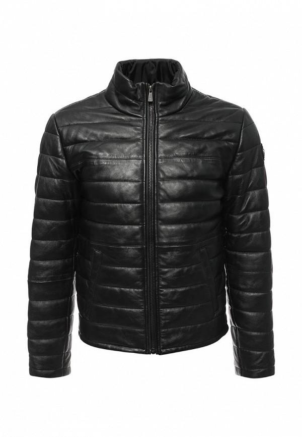 Куртка кожаная Trussardi Jeans Trussardi Jeans TR016EMUWE26 футболка versace jeans футболка