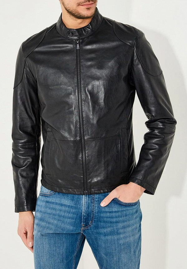 Куртка кожаная Trussardi Jeans Trussardi Jeans TR016EMYXK67