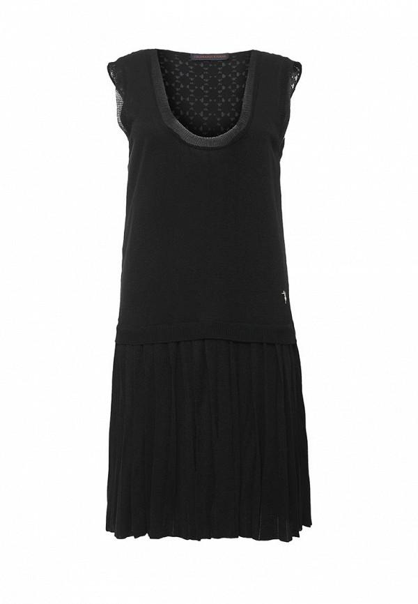 Купить женское платье Trussardi Jeans черного цвета