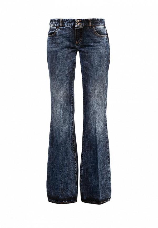 Широкие и расклешенные джинсы TRUSSARDI JEANS (Труссарди Джинс) 56J900