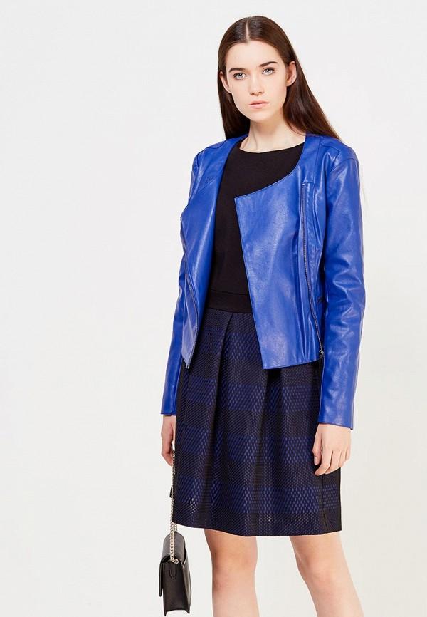 где купить Куртка кожаная Trussardi Jeans Trussardi Jeans TR016EWUZI29 по лучшей цене
