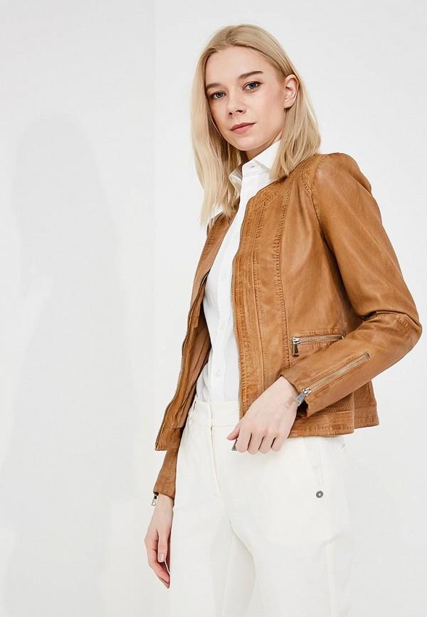 Куртка кожаная Trussardi Jeans Trussardi Jeans TR016EWZXK90