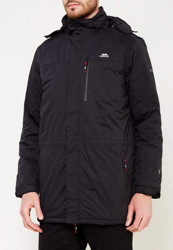 Фото - Куртку утепленная Trespass черного цвета