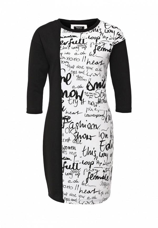 Платье-миди Troll TSU0491CA