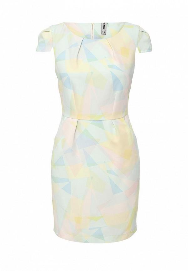 Платье-мини Troll TSU0502BI