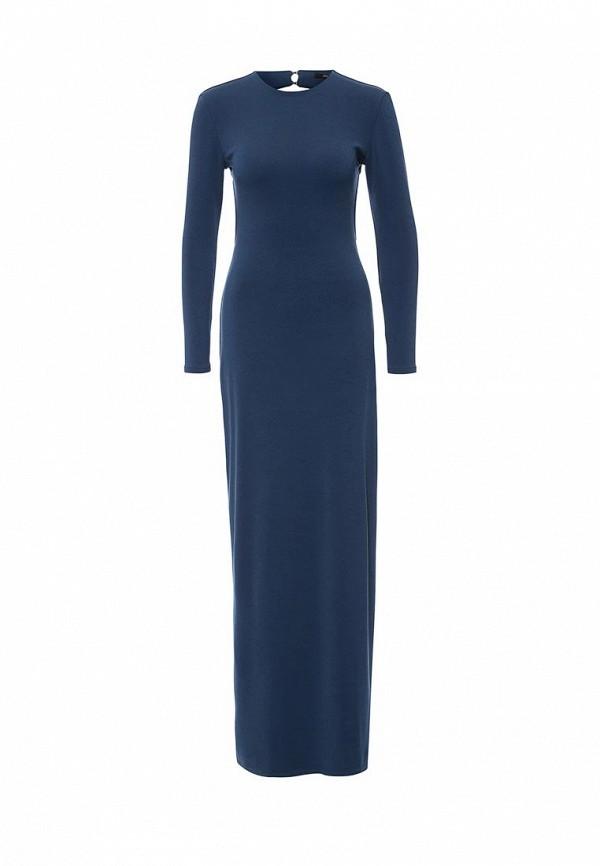 Вязаное платье Tsurpal 01403-22 син дл