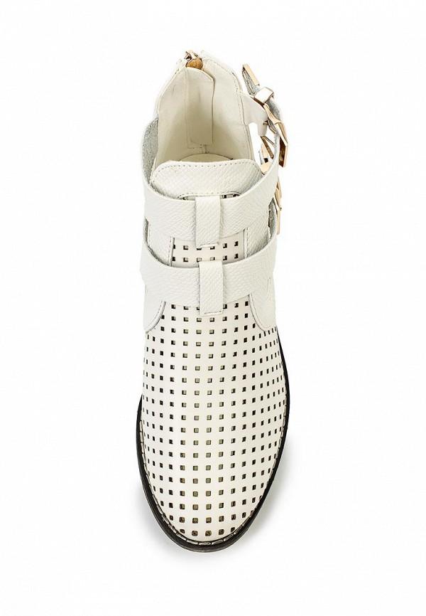Фото 4 - Ботинки Tulipano белого цвета