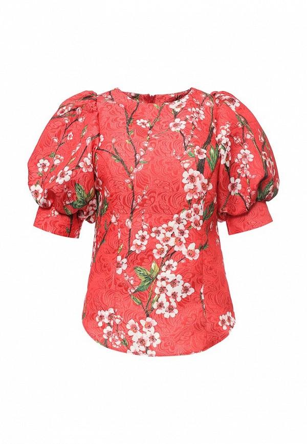 Фото - женскую блузку Tutto Bene красного цвета