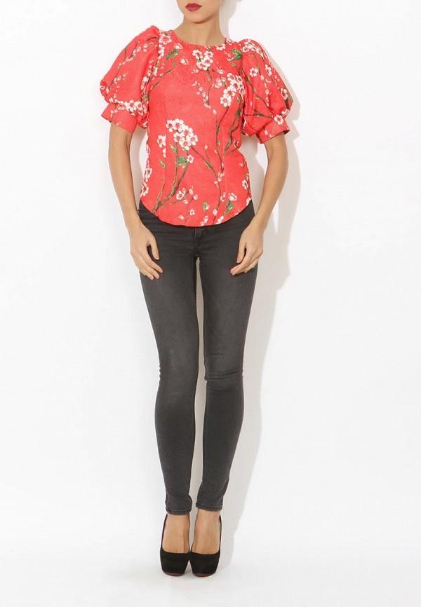 Фото 2 - женскую блузку Tutto Bene красного цвета