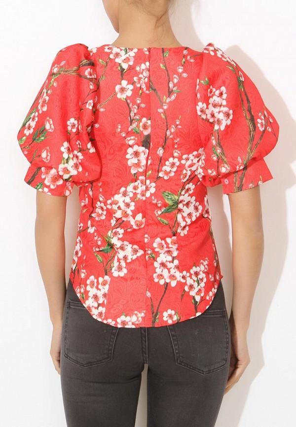 Фото 4 - женскую блузку Tutto Bene красного цвета