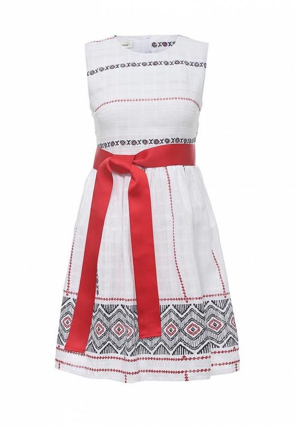 Фото - женское платье Tutto Bene белого цвета