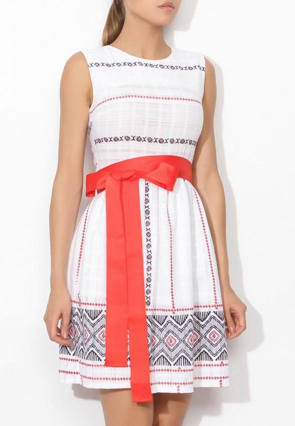 Фото 3 - женское платье Tutto Bene белого цвета