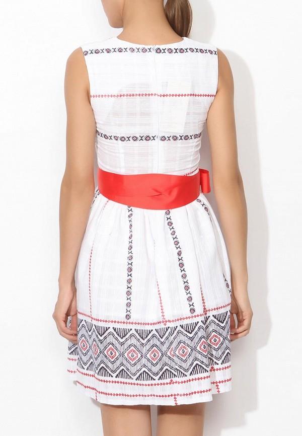 Фото 4 - женское платье Tutto Bene белого цвета