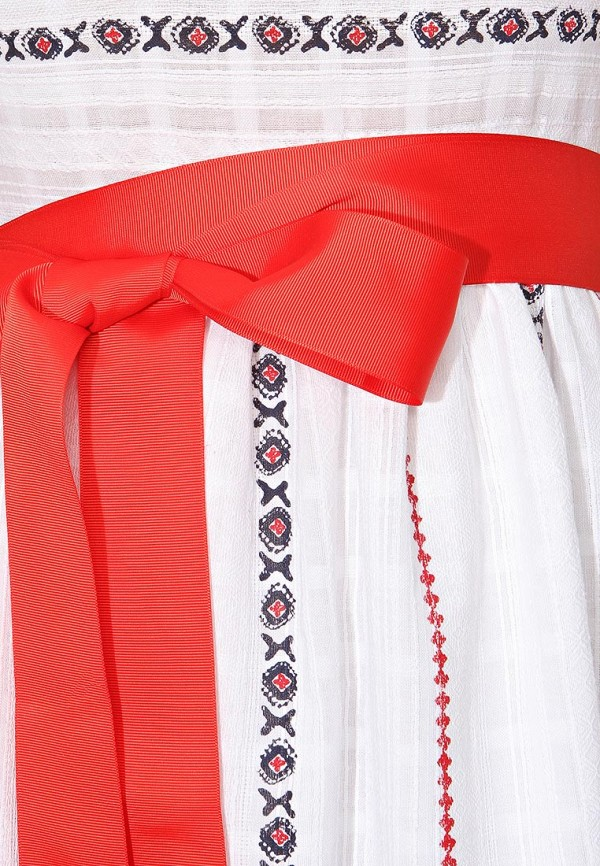 Фото 5 - женское платье Tutto Bene белого цвета