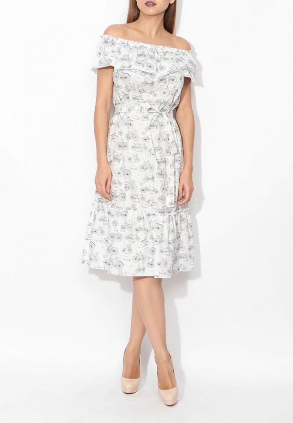 Фото 2 - женское платье Tutto Bene белого цвета