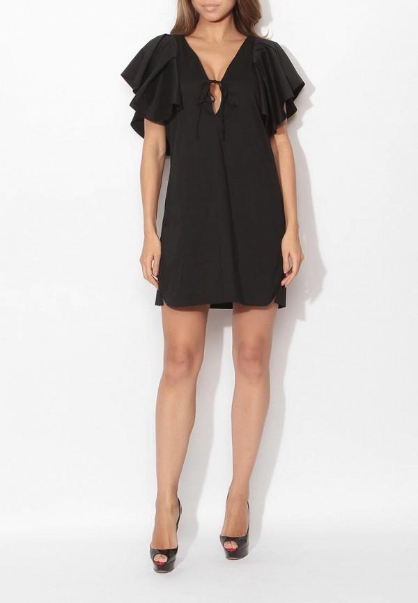 Фото 2 - женское платье Tutto Bene черного цвета