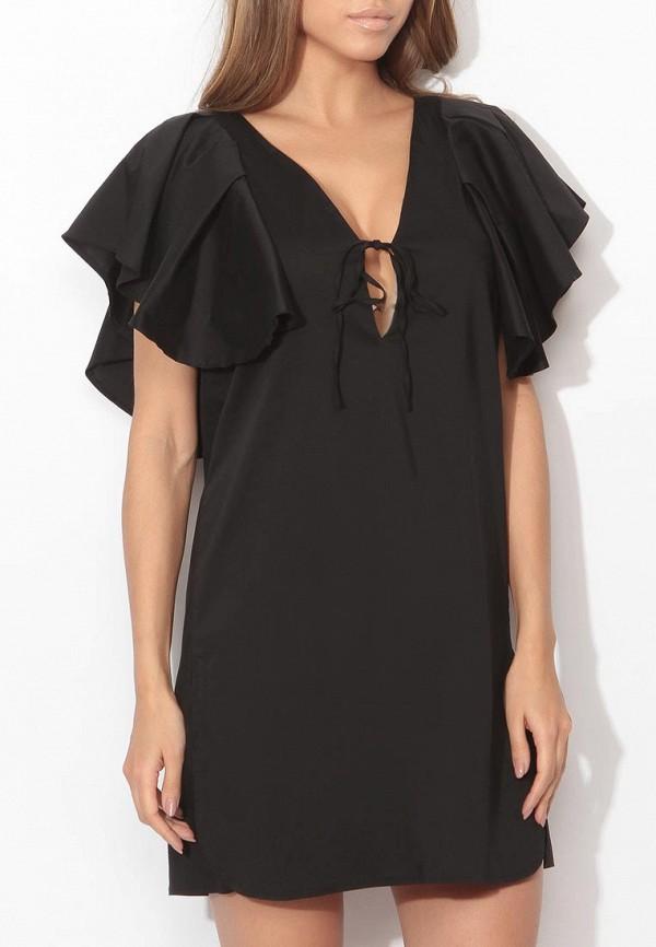 Фото 3 - женское платье Tutto Bene черного цвета