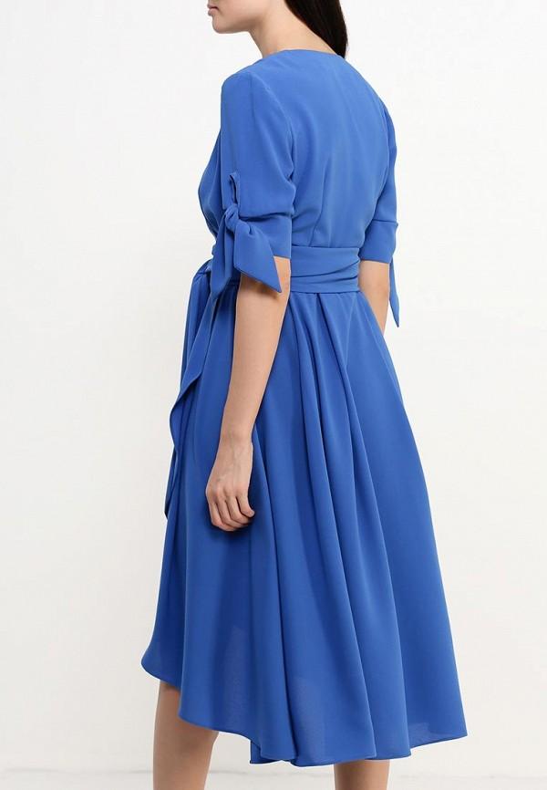 Фото 4 - женское платье Tutto Bene синего цвета