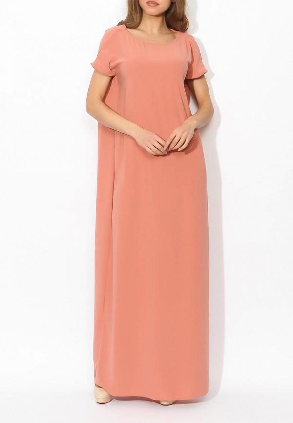 Фото 2 - женское вечернее платье Tutto Bene бежевого цвета