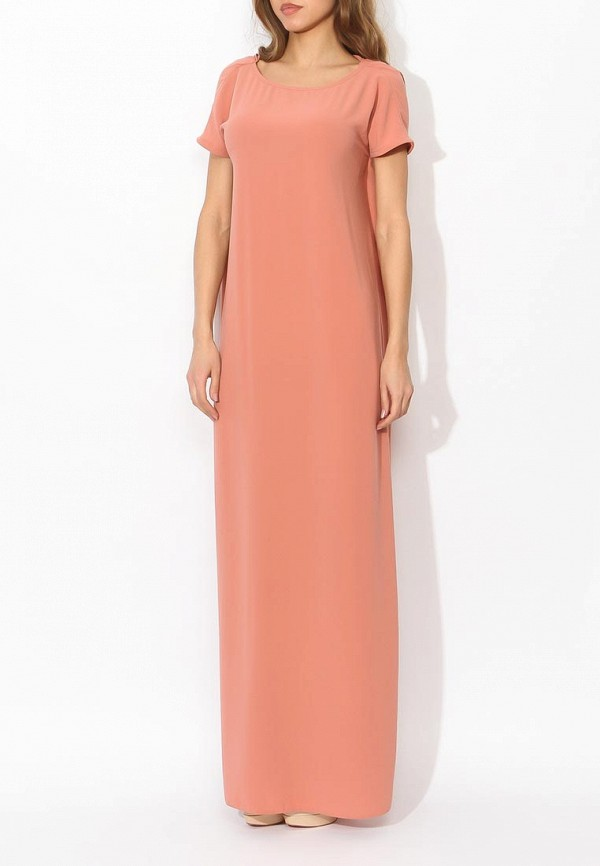 Фото 3 - женское вечернее платье Tutto Bene бежевого цвета