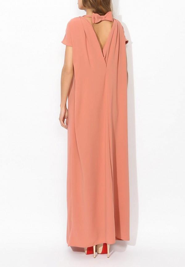 Фото 4 - женское вечернее платье Tutto Bene бежевого цвета