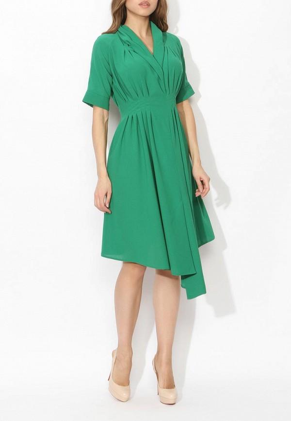 Фото 3 - женское вечернее платье Tutto Bene зеленого цвета